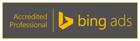 Bing Ads (Formerly Microsoft adCenter) Accredited Professional Badge